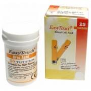 Teste de acid uric pentru aparatele EasyTouch 25 teste