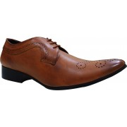 PrintFunny Shoe_Lace_13 Shoe Lace(Brown Set of 1)