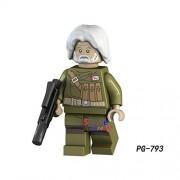 Generic 50pcs Star Wars OBI-Wan Kenobi Emperor's Royal Guard Stormtooper Han Solo Rebel Pilots Figure Building Block for Children Toy PG793