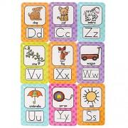 Richardy 26Pcs/Set English Letter Alphabet Kids English Flash Cards Pocket Card Educational Learning Toys for Children