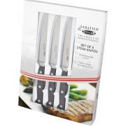 Horwood Sabatier & Horwood Stellar - Keukenmes - Steakmessen - Set van 6 Stuks - Zwart