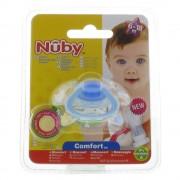Nuby Geo Beruhigungssauger 6 - 18 Monaten (Farbe und Motiv nicht wählbar)