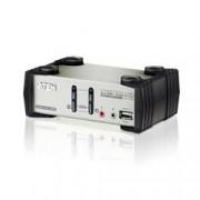 Aten KVM VGA audio Switch 2 porte USB/PS2 OSD, CS1732B