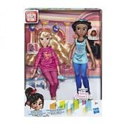 Set papusi Disney Princess Comfy I - Aurora si Jasmine