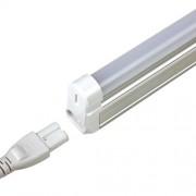Tub LED 8W, T5, 57 cm, lumină albă caldă