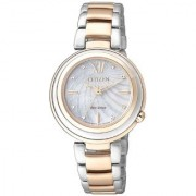 Citizen Rose Gold Other Round Dial Analog Watch For Women (EM0335-51D)