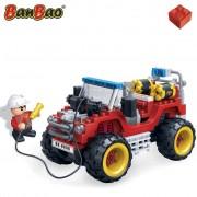 BanBao Fire Brigade Jeep 7106