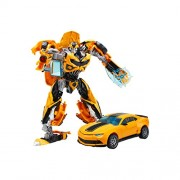 Stinger Transformation Deformation Toy Robots Brinquedos Classic Toys Action Figure convertible Robot into Car For Kids Metal Body (Yellow)