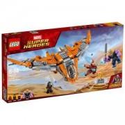 Конструктор Лего Супер Хироус - Thanos: Върховната битка, LEGO Marvel Super Heroes, 76107