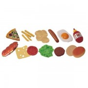Jucarii Fast-Food 19 buc