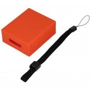 ER Compacta Y Duradera Funda Suave De Moda Para Ir A JBL Altavoz Bluetooth. -Naranja