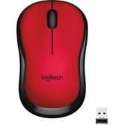 Logitech Mouse M220 Silent Rood