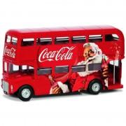 Merkloos Model auto Engelse bus Londen kerst 1:36
