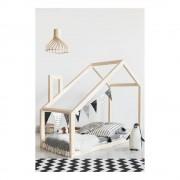 Adeko Domečková postel z borovicového dřeva Adeko Mila DM, 80 x 200 cm