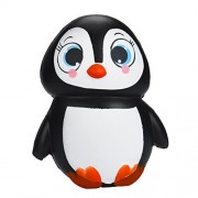 TOYMYTOY Squeeze Toys Kawaii Penguins Soft Toys Slow Rising Decompression Toys (Female Penguin)