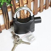 Evershine Siren Alarm Lock 110Db AntiTheft Security System Door Motor Bike Bicycle padlock