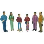 Figurine familie sudamericana Miniland