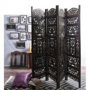 Shilpi Mango Wood Partition Screen Room Divider NSHC0303