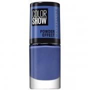 Maybelline 517 Blue Vapor - Vernis À Ongles Mat Powder Effect Colorshow De Maybelline New York