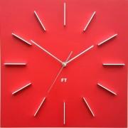 Ceas de perete design Future Time FT1010RD Square red, 40 cm