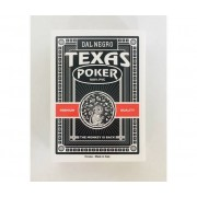 Dal Negro Carte Da Gioco Texas Monkey Nero Poker -