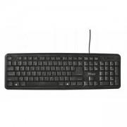 Клавиатура TRUST Ziva Keyboard, USB, Черен цвят, 22003