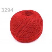 Nitarna horgolócérna, 100% pamut, 3294 - piros