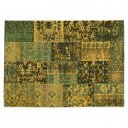 Dekbed Discounter Vloerkleed Alanis Allover - Groen 40 x 60 cm
