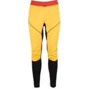 La Sportiva Argo Lange hardloopbroek Heren geel/zwart XL 2017 Hardloopbroeken