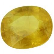 Jaipur Gemstone 6.25 -Ratti IGL&I Yellow Yellow Sapphire (Pukhraj) Precious Gemstone