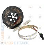 Striscia Bianco Freddo 6500K LED SMD5630 da Interno 10MT Metri Altissima Luminosità 100W
