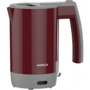 Havells Travel Lite Electric Kettle(0.5 L, Maroon)