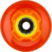 Nijdam LED wielen voor Flip Grip board oranje/geel 60 x 45 mm