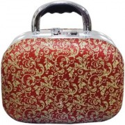 Pride Orchid to store cosmetics Vanity Box (Red)