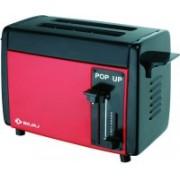 Bajaj Bajaj Pop-up Red 750 W Pop Up Toaster(Red)