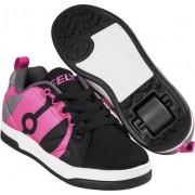 Heelys Chaussures à Roulettes Heelys Repel Noir/Charcoal/Hot Pink (Black/Charcoal/Hot Pink)