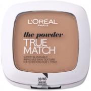 L'Oréal Paris True Match компактна пудра цвят 3D/3W Golden Beige 9 гр.