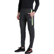 Masch Sports Men's Active Wear Regular-fit Lower with Elastic Waistband Casual Trouser Cum Running Track Pant with Pockets