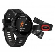 Garmin Forerunner 735XT Run Bundle - Zwart/Grijs