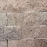 Mozaic Travertin Rustic Crem Scapitat 5x2.5x2 cm