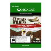 wolfenstein ii: the new colossus, the amazing deeds of captain wilkins xbox one