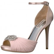 Badgley Mischka Women's Tad Dress Sandal, Light Pink, 9 M US