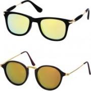 Stysol Wayfarer Sunglasses(Yellow)