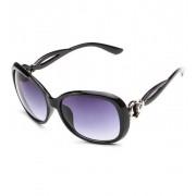 Ochelari de soare cu rama neagra Retro Sunglass