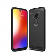 Carcasa TECH-PROTECT TPUCARBON Motorola Moto G7 Play Black