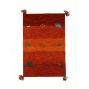 【67%OFF】ギャベ ラグ OR オレンジ 70x120 インテリア・家具 > 敷物~~ラグ