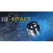 Ash and Ember Silver Beveled Size 14 (2 Rings) by Zach Heath - T