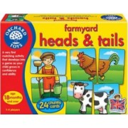 Jucarie educativa Orchard Toys Farmyard Heads and Tails