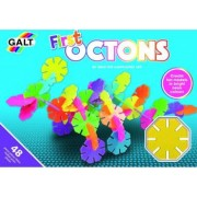 Set de construit Galt First Octons 48 piese Multicolor