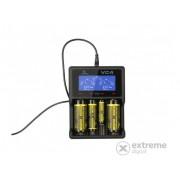 Incarcator acumulator Xtar XTAR00062 VC4 Li-Ion